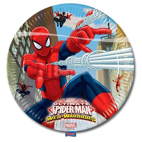 SPİDERMAN WEB WARRIOS TABAK