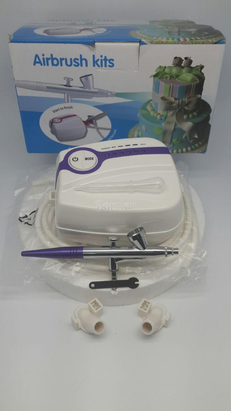 air brush komprasor set
