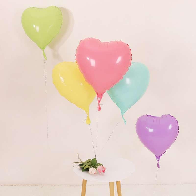 Pastel Kalp Balon