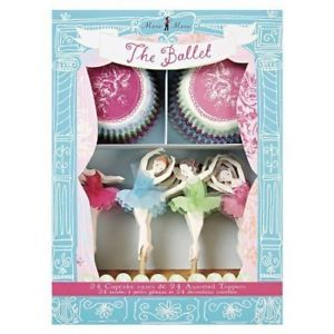 LITTLE BALERİN CUPCAKE KAPSÜL VE KÜRDAN SET (45-0571)