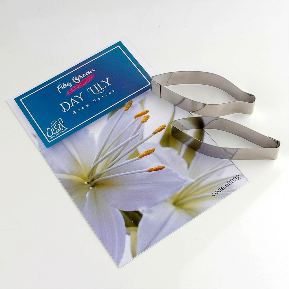 FİLİZ BİRCAN  DAY LILY KESİCİ METAL SET