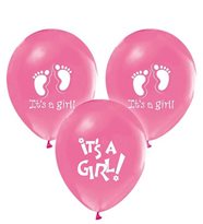 ITS A GIRL PEMBE BALON 100 AD