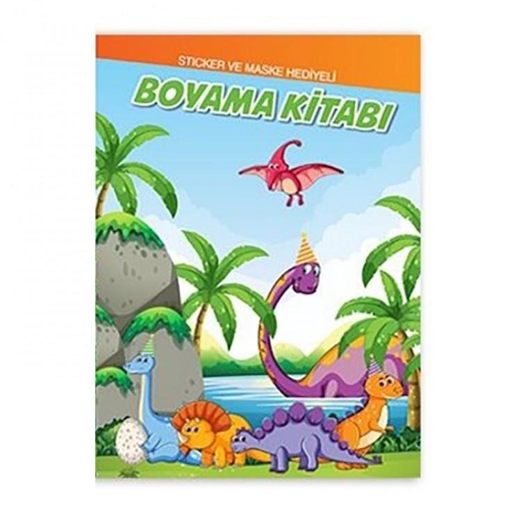 Dinozor Boyama Kitabi 10 Lu