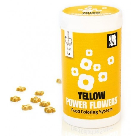 CALLEBAUT İBC POWER FLOWERS BOYA 50 GR-SARI