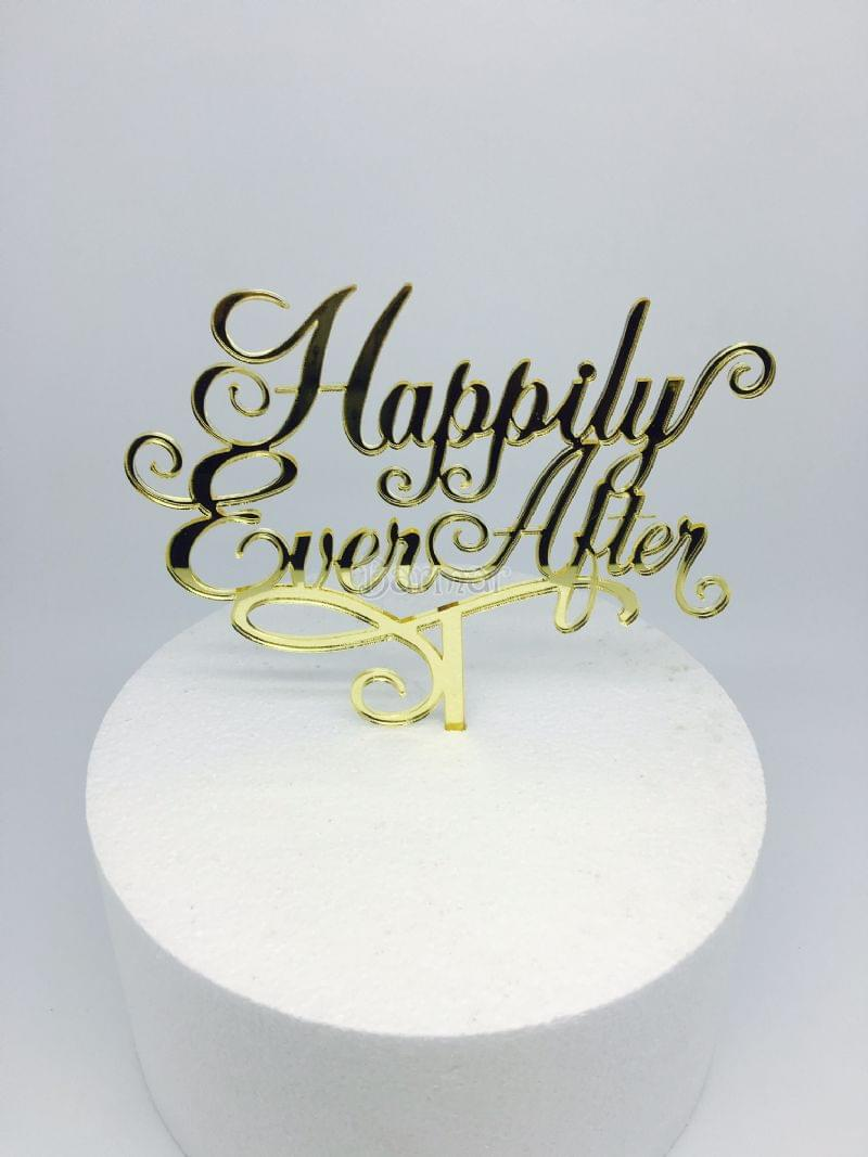 PLEKSİ HAPPILY EVER AFTER GOLD